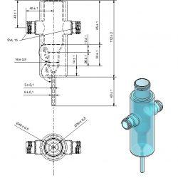 Réacteur Pointe plan calorifugé